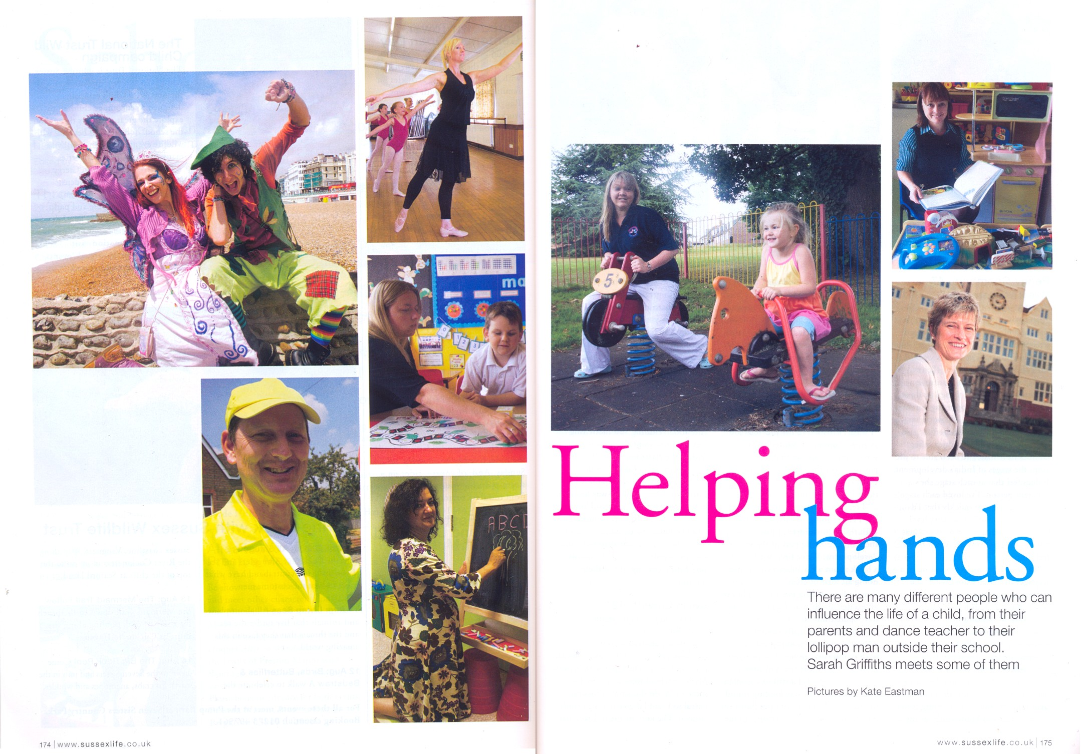 \'Helping Hands\' in Sussex Life Magazine