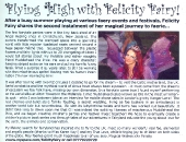 Felicity Fairy in FAE Magazine