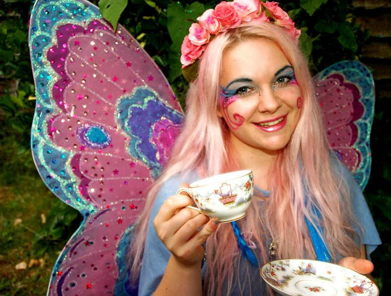 Tea Party With Apple Blossom Fairy