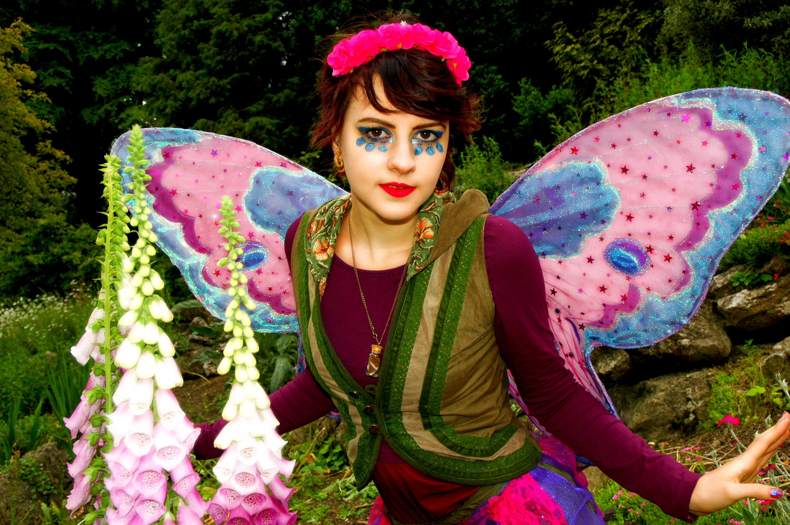 Thistle Fairy Parties Sussex, Horsham, Crawley Sussex