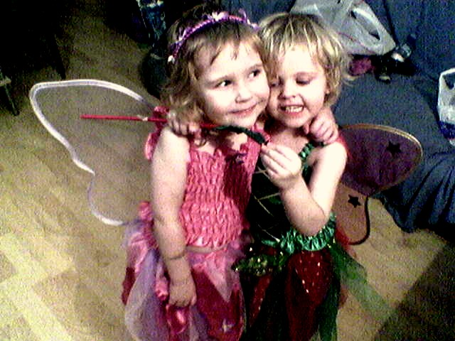 Little Fairies Daisy and Holly