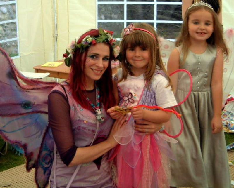 Felicity Fairy with Robyn on her Birthday