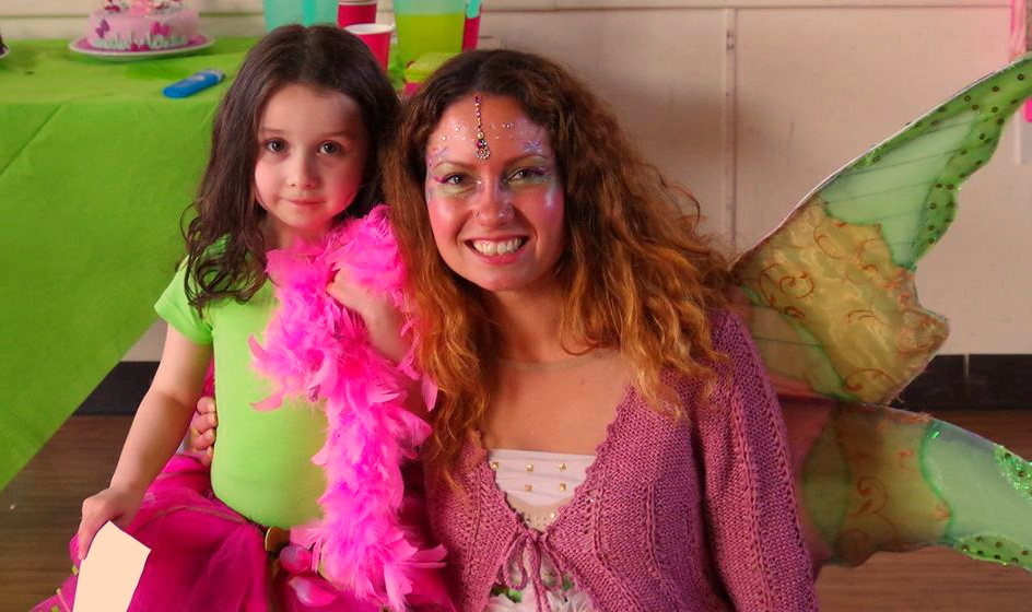 Viola Fairy at Children\'s Parties Bournemouth, Poole , Dorset