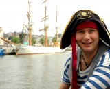 Captain Cannonball Bob Pirate Parties Cardiff