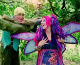 Woodchip the Pixie and Felicity Fairy at Old Down Country Park