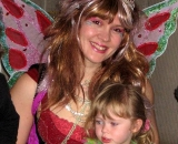 Luna Fairy with Scarlett Brownn turning 3
