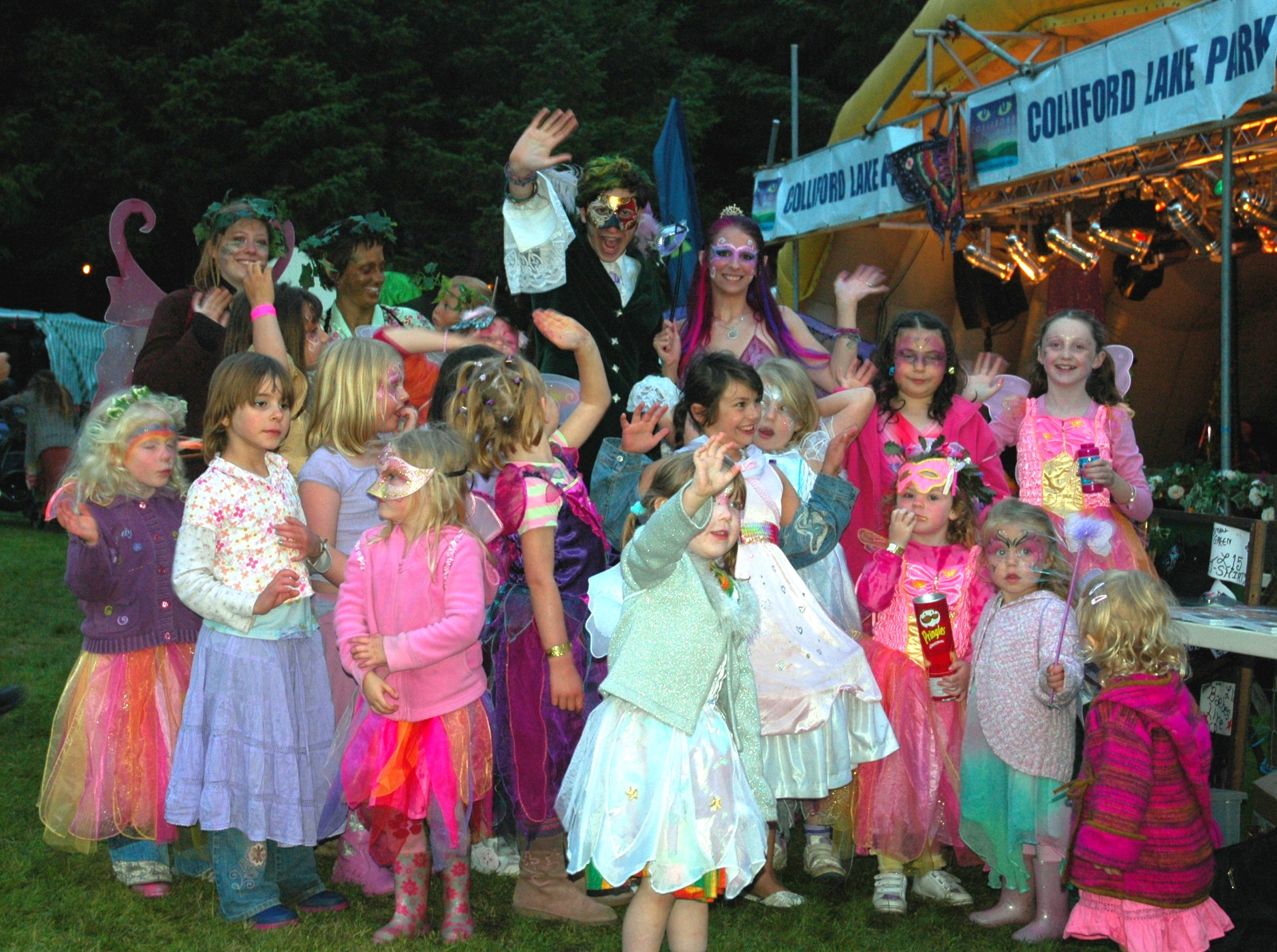 Summer Masqurade with Felicity Fairy and Muddlehead the Pixie