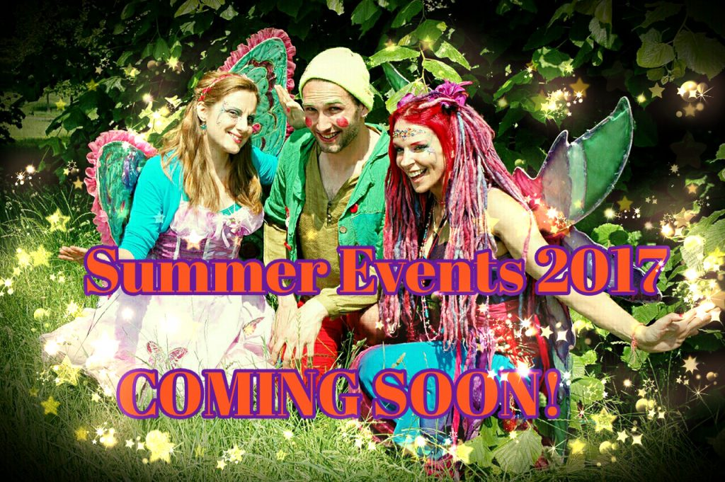 Faeries for summer 2017
