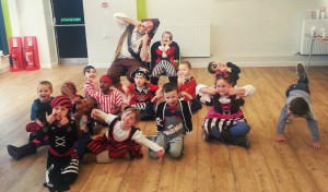 Igor's 7th birthday party in Haywards Heath with Pirate Captain Seaweed
