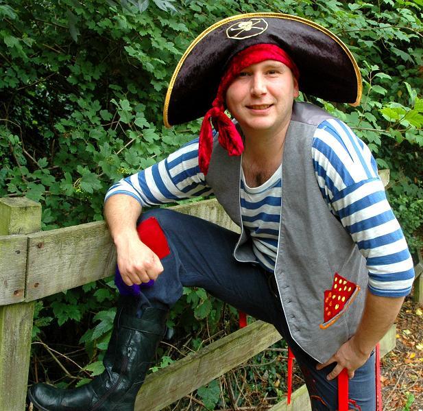 Pirate Captain Cannonball Bob