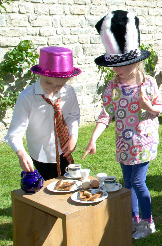 Mad Hatter's Tea Party Relay Race