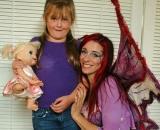 Felicity Fairy with MacKenzie